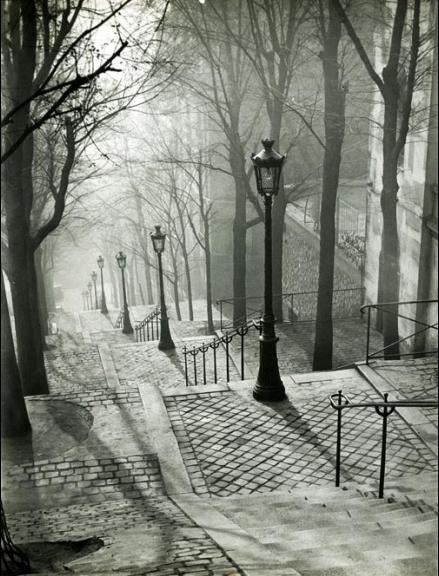 L'oeil de Brassaï et Montmartre...